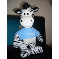 Pelúcia Zebra Galera Animal Filhote Nestle Ler Anúncio