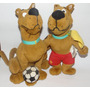 Imperdível = 2 Scooby Doo Futebol/ginastica Pelúcia Original