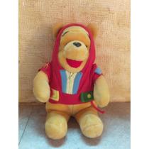 Pelúcia Urso Pooh Puff Disney Capuz Decoração Festa