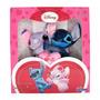 Stitch E Angel Apaixonados Pelúcia Original Ótimo Presente!