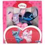 Pelucia Stitch E Angel Apaixonados Original Disney Na Caixa