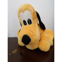 Pelucia Pluto 33 Cm De Altura Sentado Original Disney