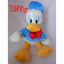 Pelúcia Pato Donald Classico Disney 24cm Sentado 33cm Em Pé