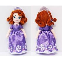 Boneca 3 Pelúcias Princesa Sofia