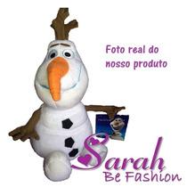 Promoção Boneco Pelúcia Olaf Frozen Disney Pronta Entrega 30