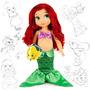 Boneca Ariel Pequena Sereia Animators Disney Oficial Lacrada