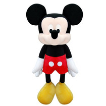 Boneco De Pelúcia Mickey Mouse Disney Infantil Long Jump
