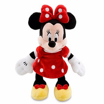 Minnie 23 Cm - Pelúcia Original Da Turma Do Mickey - Disney