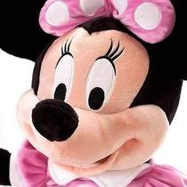 Minie 50cm Pelucia Disney Turma Do Mickey Minnie Toyspri