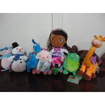 Doutora Brinquedos - Disney - Conjunto Com 07 Bonecos No Br