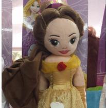 Boneca De Pelúcia Princesas Disney Bela Fera -pronta Entrega
