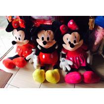 Minnie Rosa,vermelha Ou Mickey Long Jump- Tamanho De 1 Metro