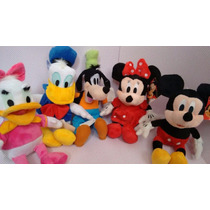 Minie E Mickey Donald Margarida Kit Com 6 Peças 140,00