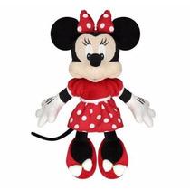 Boneca Minnie Pelúcia 30cm Original Disney Lacrado Nf