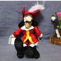 Pelúcia Capitão Gancho 50cm Desenho Jake E Os Piratas Disney