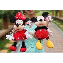 Minie Rosa Minie Vermelha Ou Mickey 40 Cm Preço Unitário