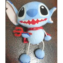 Boneca Pelúcia Stitch Diabinho ( Lilo & Stitch ) 25 Cm