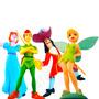 Miniaturas Do Peter Pan Da Sininho Do Capitão Gancho E Wendy