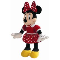 Boneco Pelúcia Disney Minnie Vermelha Grande 50cm Original