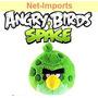 Angry Birds Space 10cm Pelúcia Todas As Cores Chaveiro