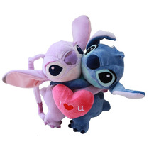 Pelúcia Stitch E Anjinha Lovers Lilo & Stitch 626 624 Angel
