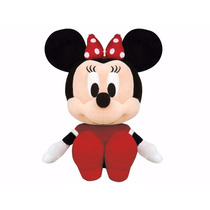 Pelúcia Big Head Minnie Disney Original Long Jump Vermelho