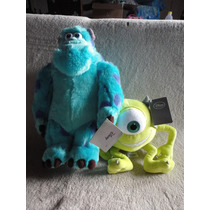 Sulley E Mike Monstros 34cm/24 Cm - Original Disney Store