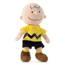 Boneco De Pelúcia Charlie Brown Snoopy 35cm - Pronta Entrega