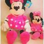 Boneco Pelúcia Minie E Mickey Original 1,05 M