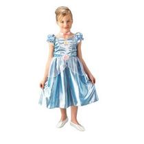 Fantasia Da Princesa Cinderela Classica M (6 - 8 Anos)