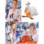 4x1 Olaf Frozen Disney: Pelúcia Manta Mochila E Almofada