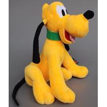 Boneco Pelúcia Cão Pluto Musical Mickey Minnie Antialergico