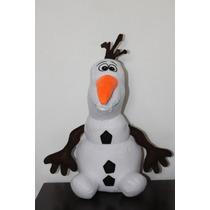 Boneco Olaf Frozen 40 Cm Pelúcia Pronta Entrega