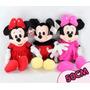 Minnie Rosa Ou Vermelha Ou Mickey De 50 Cm