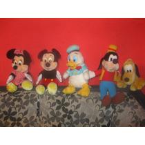 Lote Pelucias Disney Originais Mickey E Amigos