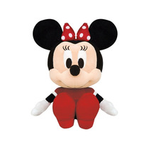 Pelúcia Big Head Minnie 30cm Disney Original Long Jump
