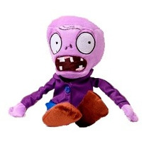 Pelúcia Plants Vs Zombies - Zumbi Roxo