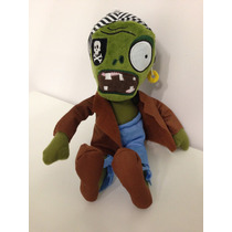 Pelúcia Plants Vs Zombies - Zumbi Pirata - 27cm