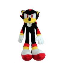 Pelúcia Shadow Turma Do Sonic Grande 35cm Boneco
