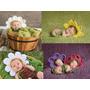 Touca Flor De Crochê - Rosa - Margarida - Girassol - Violeta