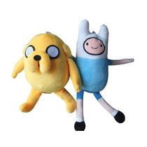 Pelúcia Hora De Aventura - Bonecos Finn Jake Adventure Time