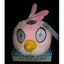 Pelúcia Angry Birds Rosa Medio Com Efeito Sonoro - Rovio