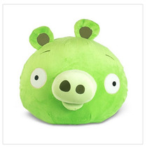 Pelúcia Angry Birds Porco Grande Com Efeito Sonoro - Rovio
