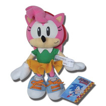 Sonic Hedgehog Amy Pelúcia Original 22cms