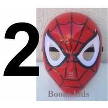 2 Máscara Do Homem Aranha Com Luzes