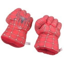 Par De Mãos Homem Aranha Espuma Luva Spiderman Prontaentrega