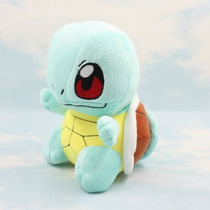 Pelúcia Squirtle - Boneco Pokemon Squirtle - Pikachu