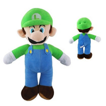 Pelúcia Luigi - Do Jogo Super Mario Bross 3ds Nintendo 42 Cm