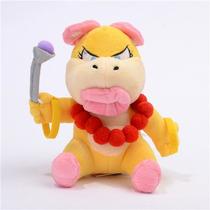 Pelúcia Wendy O. Koopa Super Mario Bros Yoshi Nintendo 20 Cm