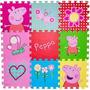 Tapete Eva Infantil Peppa Pig Bbr Toys